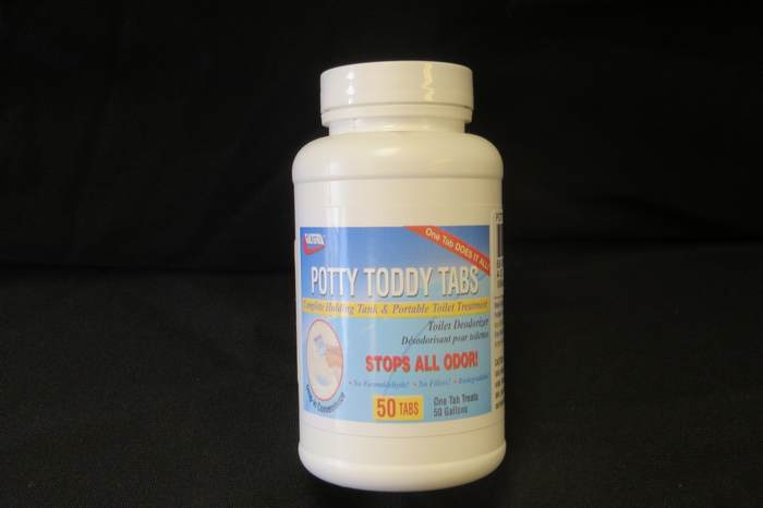 Potty Toddy Tabs 50 CT