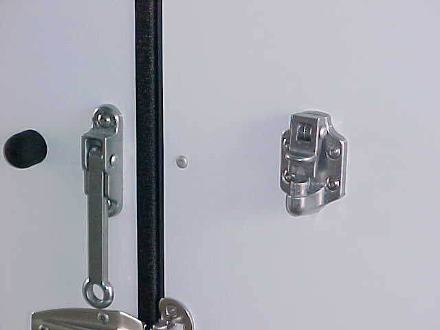 Door Holdback- Alum. Latch