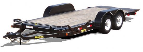 Big Tex 10FT TILT Bumperpull Flatbed & Sport Utility Trailer