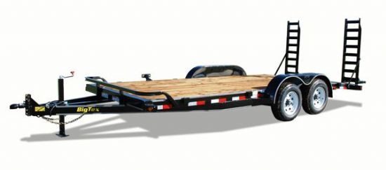 Big Tex 10ET Bumperpull Flatbed & Sport Utility Trailer