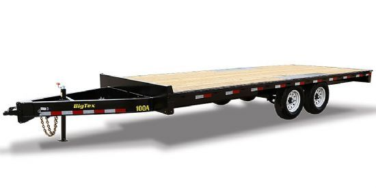 Big Tex 10OA DECK OVER Bumperpull Flatbed & Sport Utility Trailer
