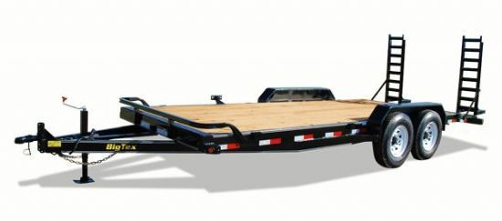 Big Tex 14ET Bumperpull Flatbed & Sport Utility Trailer