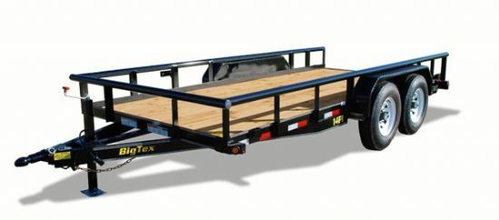 Big Tex 14PI Bumperpull Flatbed & Sport Utility Trailer