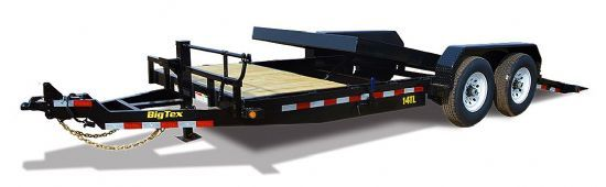 Big Tex 14TL TILT Bumperpull Flatbed & Sport Utility Trailer