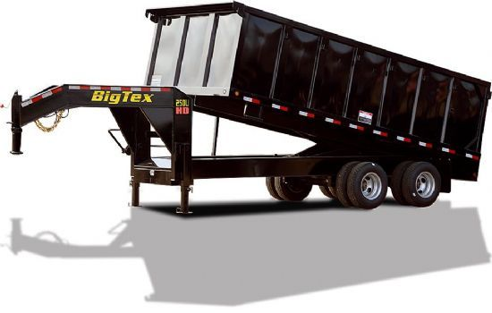 Big Tex 25DU HD DUMP TRAILER Gooseneck Flatbed & Sport Utility Trailer