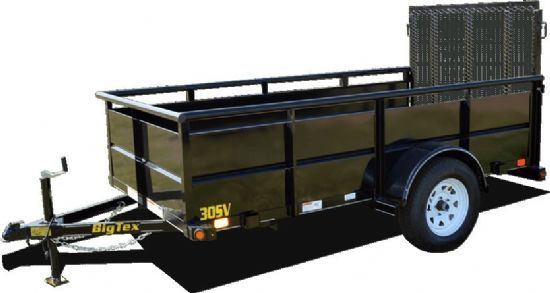 Big Tex 30SV Bumperpull Flatbed & Sport Utility Trailer