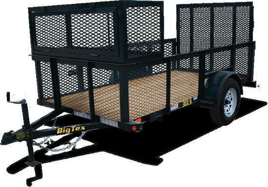 Big Tex 30LS Bumperpull Flatbed & Sport Utility Trailer