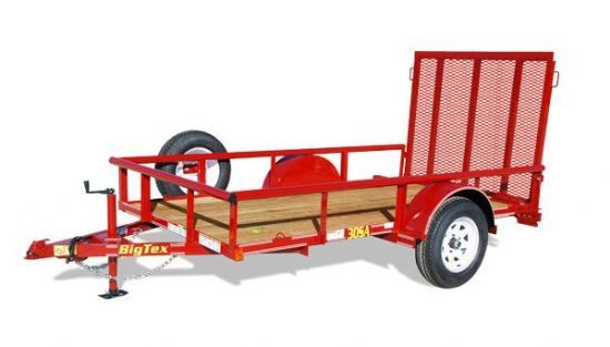Big Tex 30SA Bumperpull Flatbed & Sport Utility Trailer