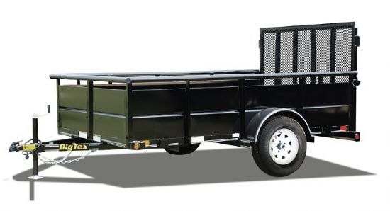 Big Tex 35SV Bumperpull Flatbed & Sport Utility Trailer