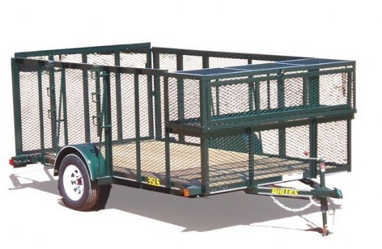 Big Tex 35LS Bumperpull Flatbed & Sport Utility Trailer