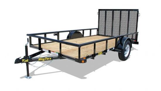 Big Tex 35SA Bumperpull Flatbed & Sport Utility Trailer
