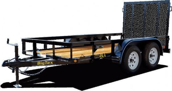 Big Tex 45LA Bumperpull Flatbed & Sport Utility Trailer