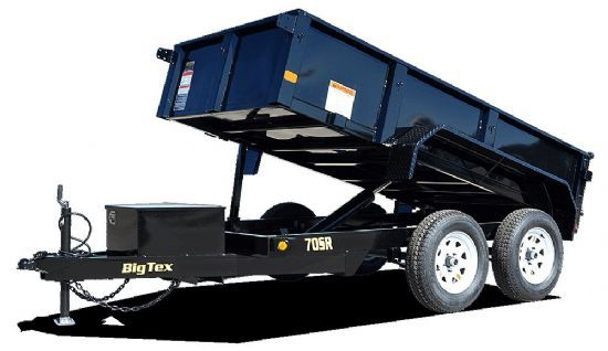 Big Tex 70SR DUMP Bumperpull Flatbed & Sport Utility Trailer