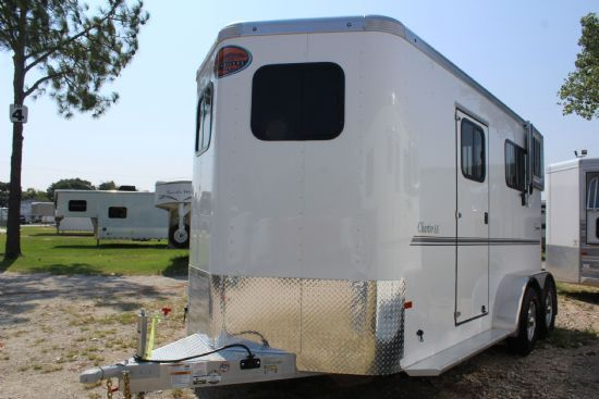 2019 Sundowner Charter TR SE  2 Horse Straight Load Bumperpull Horse Trailer SOLD!!!