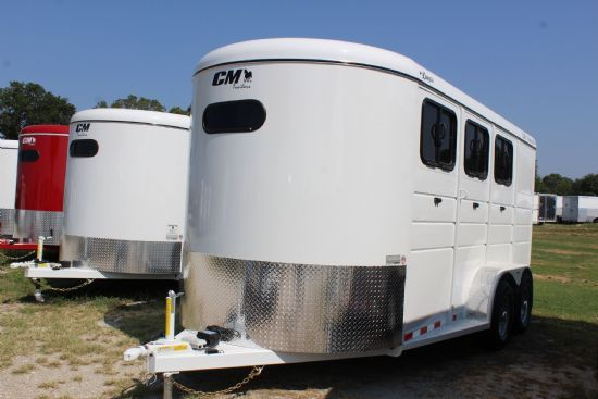 2019 CM Dakota  3 Horse Slant Load Bumperpull Horse Trailer SOLD!!!