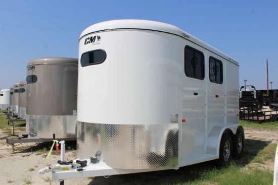 2019 CM Dakota  2 Horse Slant Load Bumperpull Horse Trailer SOLD!!!