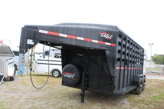 2020 Maxxim 16' Eagle with Punch Sides Gooseneck