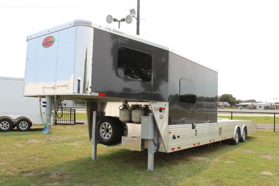 2021 Sundowner 1986 Toy Hauler KRAWLER MODEL Open Deck Gooseneck Motorsports & Toy Hauler With Living Quarters