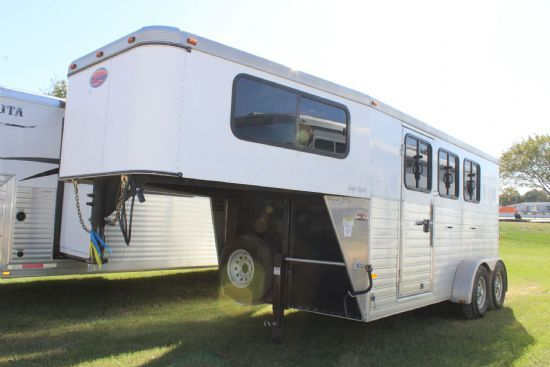 2014 Sundowner Super Sport  3 Horse Slant Load Gooseneck Horse Trailer SOLD!!!