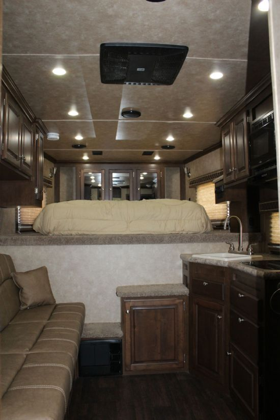 2019 Sundowner 2186 Toy Hauler KRAWLER MODEL Open Deck Gooseneck Motorsports & Toy Hauler With Living Quarters