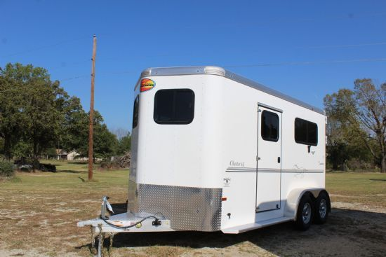 2021 Sundowner Charter TR SE  2 Horse Straight Load Bumperpull Horse Trailer SOLD!!!