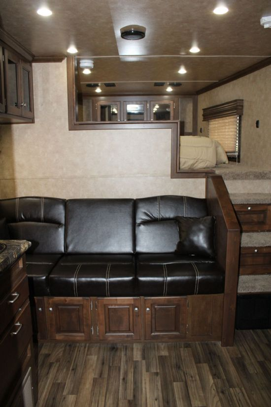 2019 Sundowner 2086 Toy Hauler w/ 20' Cargo, 20' LQ Gooseneck Motorsports & Toy Hauler With Living Quarters SOLD!!!