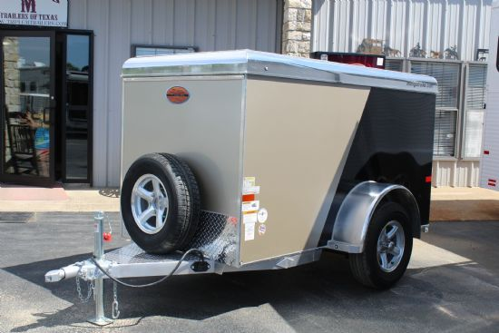 2018 Sundowner 4x8' MiniGo Cargo MG4X8 Bumperpull Enclosed Trailer