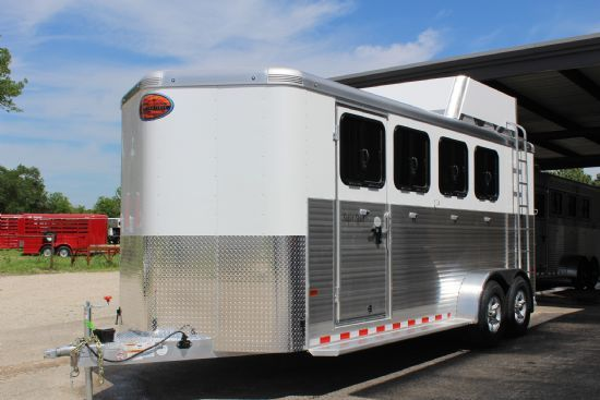 2018 Sundowner Super Sport  4 Horse Slant Load Bumperpull Horse Trailer SOLD!!!