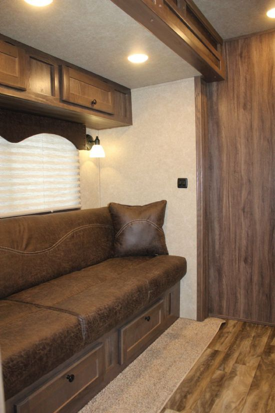 2019 Sundowner 2286 Toy Hauler KRAWLER MODEL Open Deck Gooseneck Motorsports & Toy Hauler With Living Quarters