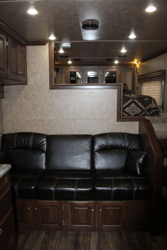 2019 Sundowner 2286 GM Toy Hauler Gooseneck Motorsports & Toy Hauler With Living Quarters SOLD!!!