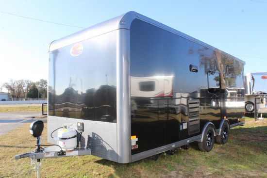 2021 Sundowner TrailBlazer Toy Box 2286 Bumperpull Motorsports & Toy Hauler With Living Quarters SOLD!!!