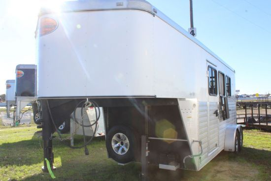 2015 Sundowner Super Sport  3 Horse Slant Load Gooseneck Horse Trailer SOLD!!!
