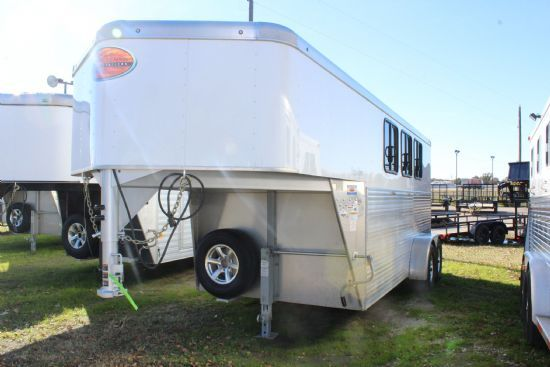 2017 Sundowner Super Sport  3 Horse Slant Load Gooseneck Horse Trailer SOLD!!!