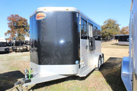 2014 Sundowner Super Sport  3 Horse Slant Load Bumperpull Horse Trailer SOLD!!!