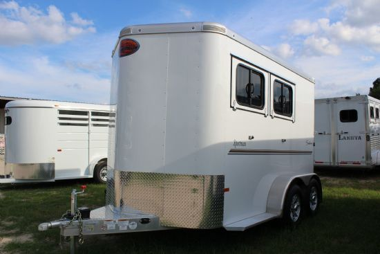 2018 Sundowner Sportman (Extra Large)  2 Horse Slant Load Bumperpull Horse Trailer SOLD!!!