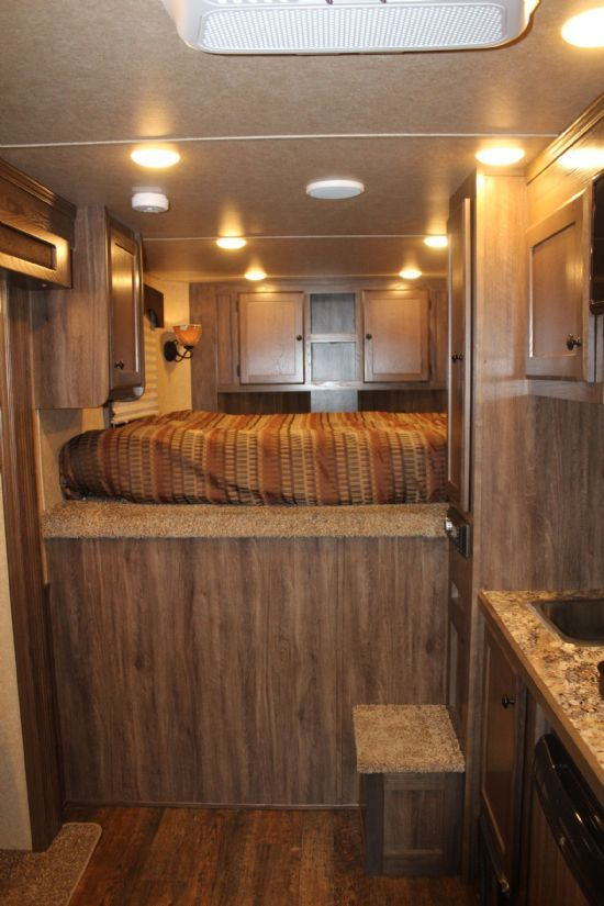 2019 Lakota Charger LE1612 (16' STock / 12' LQ) w/ Slide-Out Gooseneck  With Living Quarters SOLD!!!