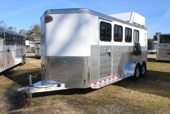 2019 Sundowner Super Sport  4 Horse Slant Load Bumperpull Horse Trailer SOLD!!!
