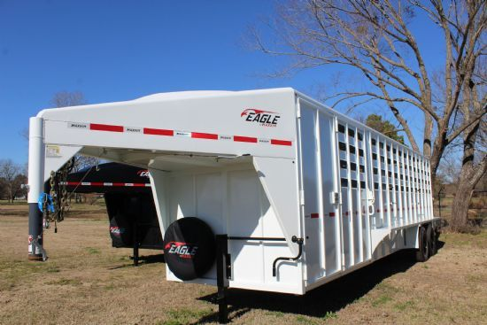 2021 Maxxim 28' (24 + 4) Eagle with Punch Sides and Tack Room Gooseneck  SOLD!!!