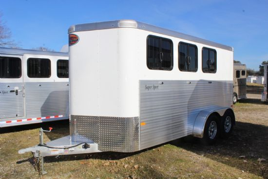 2019 Sundowner Super Sport  3 Horse Slant Load Bumperpull Horse Trailer SOLD!!!