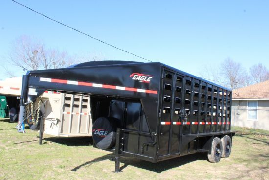 2021 Maxxim 16' Eagle with Punch Sides Gooseneck  SOLD!!!