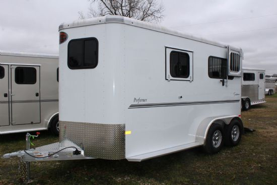 2019 Sundowner Performer  2 Horse Straight Load Bumperpull Horse Trailer