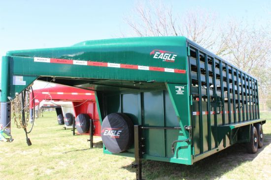 2021 Maxxim 20' Eagle with Punch Sides Gooseneck