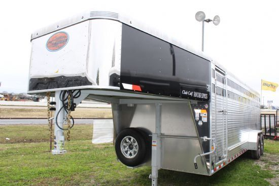 2019 Sundowner 24' Rancher Club Calf Show Trailer Gooseneck