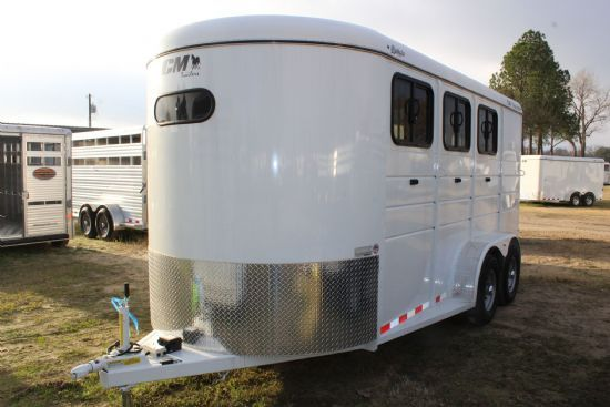 2019 CM Dakota  3 Horse Slant Load Bumperpull Horse Trailer