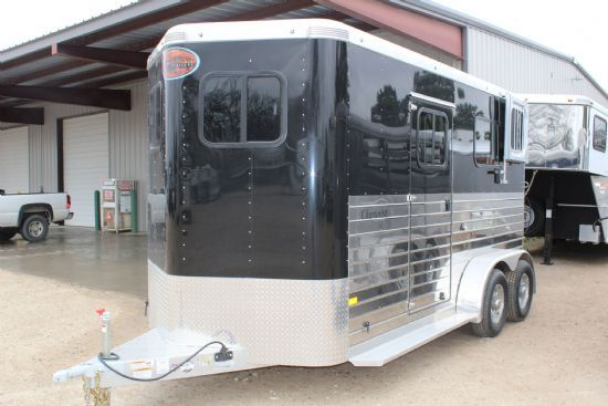 2019 Sundowner Charter TR SE LIMITED EDITION  2 Horse Straight Load Bumperpull Horse Trailer