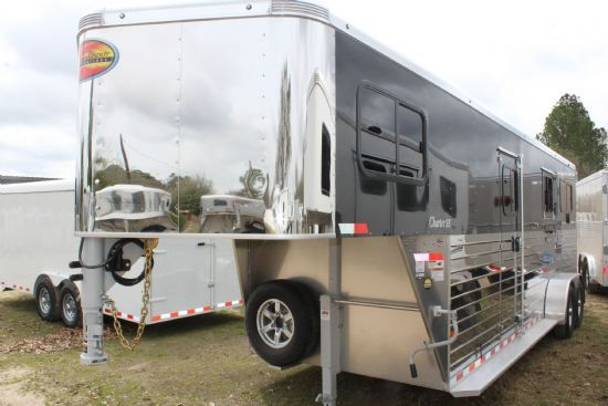 2020 Sundowner Charter TR SE 2 + 1 LIMITED EDITION  2 Horse Straight Load Gooseneck Horse Trailer SOLD!!!