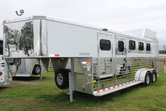 2019 Sundowner CIRCUIT SERIES  4 Horse Slant Load Gooseneck Horse Trailer SOLD!!!