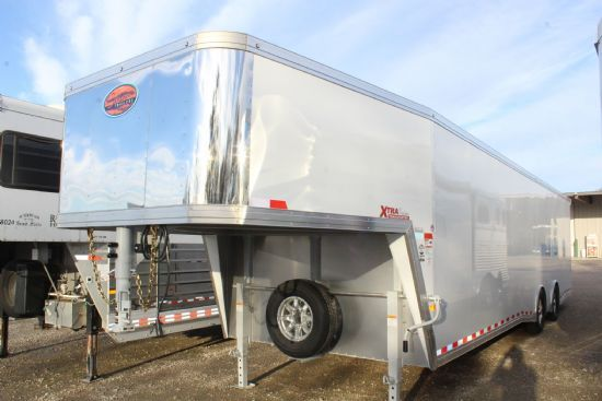 2020 Sundowner 30' XTRA Cargo (SUPER SPREAD AXLES) Gooseneck Motorsports & Toy Hauler