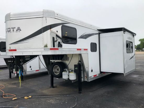 2020 Lakota Charger C8313SR  3 Horse Slant Load Gooseneck Horse Trailer With Living Quarters SOLD!!!