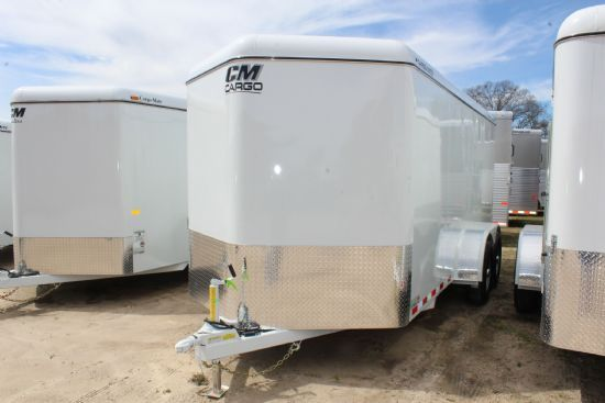 2019 CM 16' CARGO MATE Bumperpull Enclosed Trailer SOLD!!!